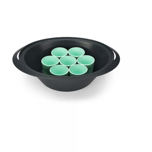 8-tlg. Dessert-Förmchen-Set aus Silikon