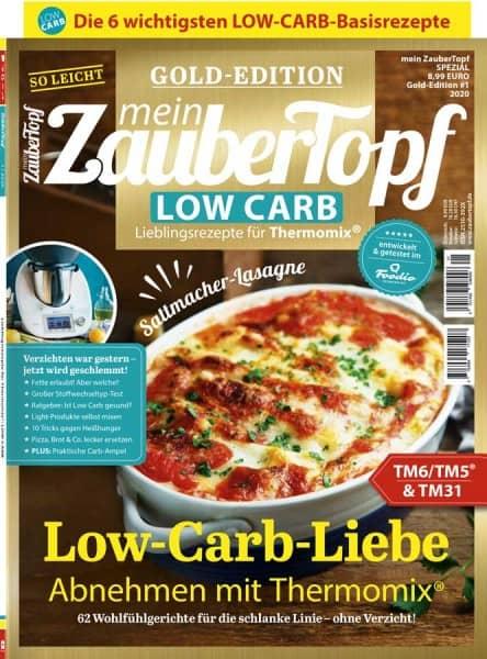mein ZauberTopf Gold-Edition «Low Carb» | Ausgabe 01/2020