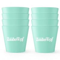 ZauberCups | 8-tlg. Dessert-Förmchen-Set aus Silikon