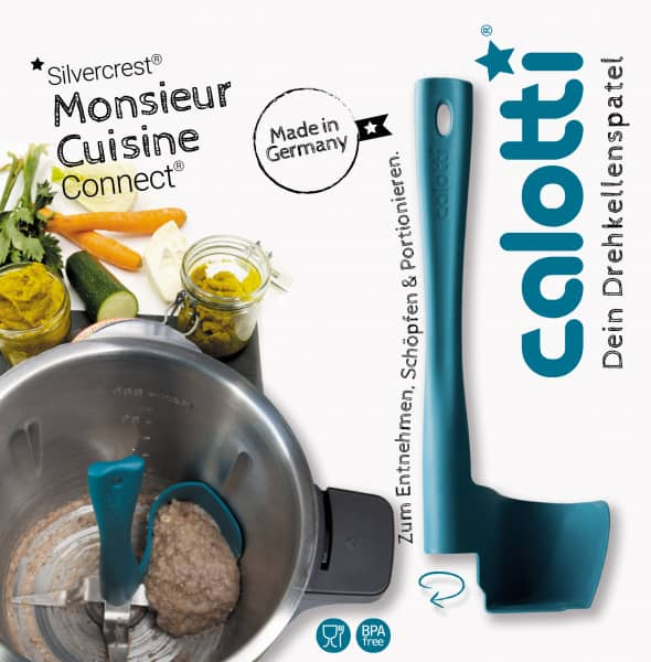 Calotti® Drehkellenspatel für Monsieur Cuisine Connect