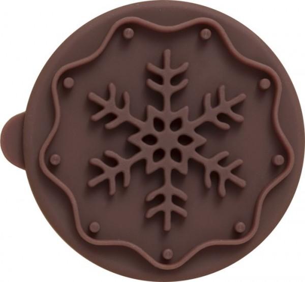 Plätzchen-Stempel Snowflake