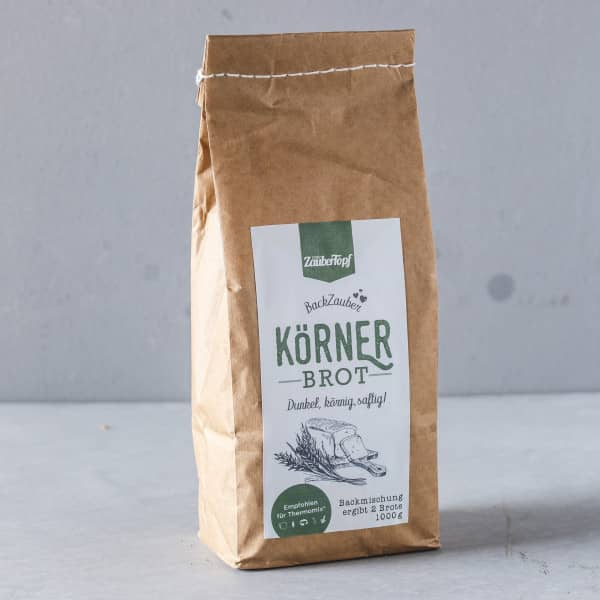 Körnerbrot | Backzauber Brotbackmischung mit Natursauerteig | 1000g