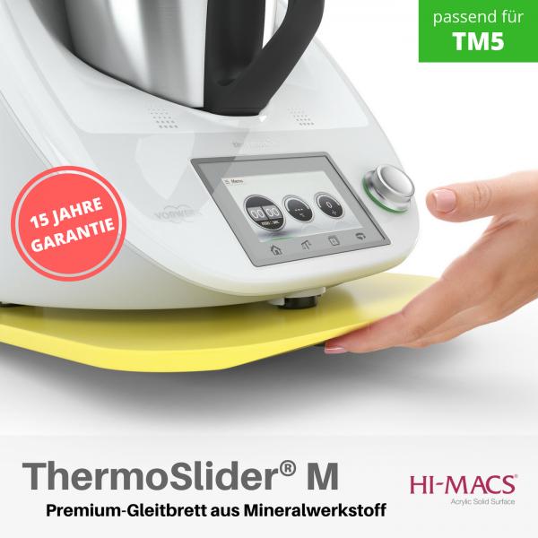 ThermoSlider® M |V1 | Lemon Squash | Premium-Gleitbrett für Thermomix TM6/TM5